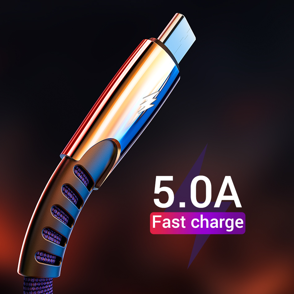 USB Lighting Cable For iPhone 11 X XS MAX 7 8P Type C Fast Charging Data For Samsung S9 S8 Note 9 8 Huawei P20 &Micro USB Cable(China)