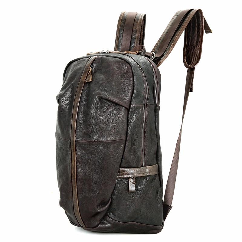 school leather laptop rucksack (2)