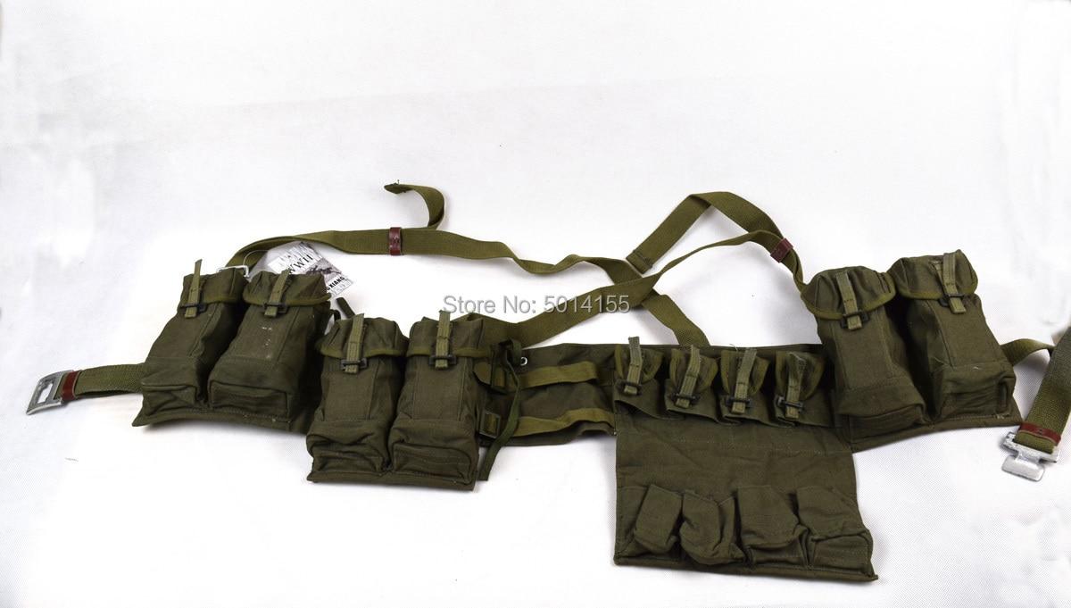 Surplus Vietnam War Chinese 7.62mm Type 63 SKS Chest-rig Bandolier Mag Ammo Pouch