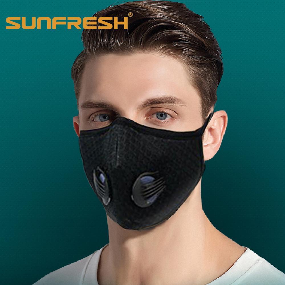 Fashion Filter Mouth Face Mask Breathing Valve Mask Breathable Anti-fog Men And Women Dust N95 Maske Face Mask Kpop Stylish