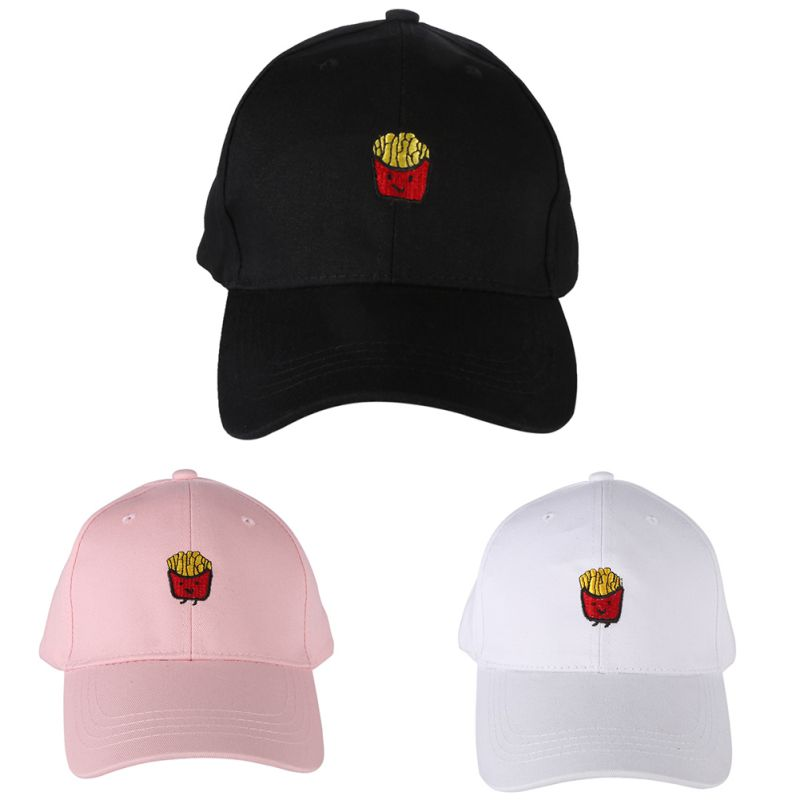Men Women Peaked Hat Hiphop Curved Strapback Snapback Cap Adjustable Buy One Get One Free