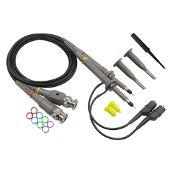 P6 100 2PCS Oszilloskop Sonde Kit DC-100MHz Scope Clip Test Sonde 100MHz Für Tektronix HP x1/X10 sonda osciloscopio großhandel