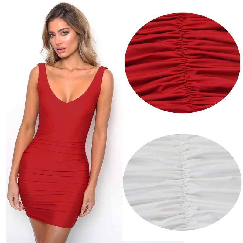 2c4af5b670b 2019 Sexy Spaghetti Straps Bodycon Red Party Dress Open Back Skinny ...