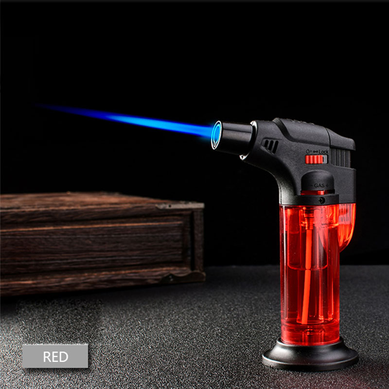 Kitchen Butane Lighter Cooking Torch Refillable Adjustable Flame Lighter BBQ Ignition Spray Gun Picnic Kitchen Tool NO GAS X