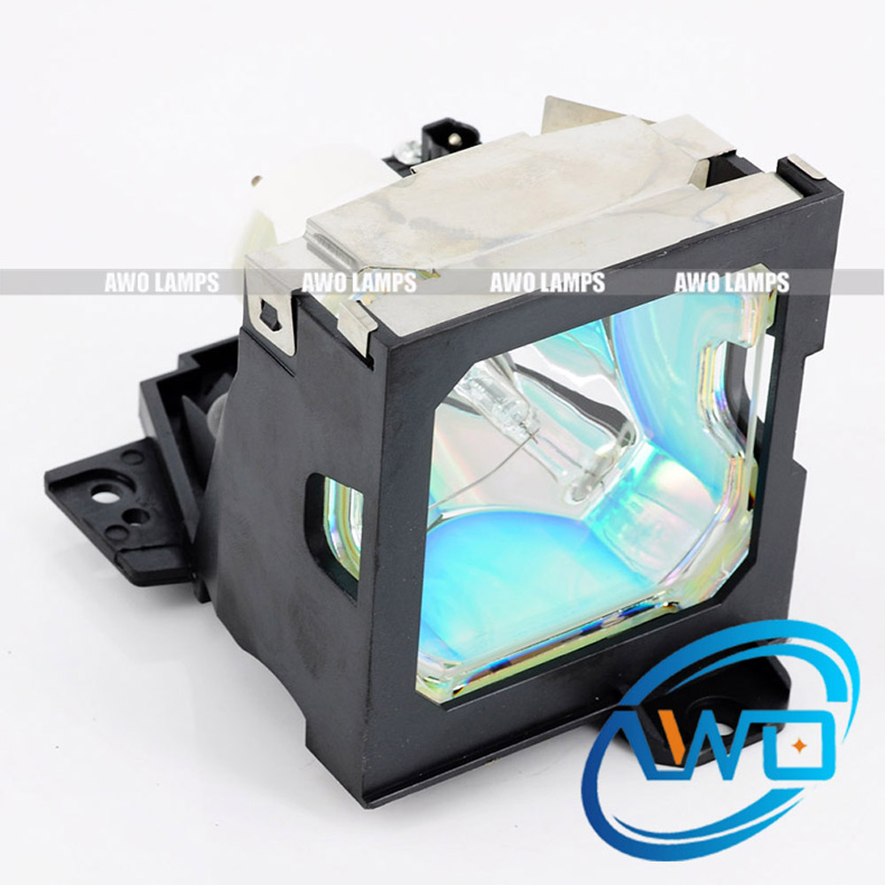 AWO Compatible Projector Lamp ET-LA780 with Cage for PANASONIC PT-L750/L780/L780NT/LP1X100/LP1X200NT/PT-L750U/PT-L780U/PT-L780NT original projector lamp et la780 for panasonic pt l750 pt l750e pt l750u pt l780 pt l780e pt l780nt pt l780nte
