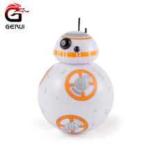 GERUI Star Wars BB-8 Droid Herb Grinder With Gift Box Zinc Alloy Tooth Tobacco Grinder Weed Smoking Accessories