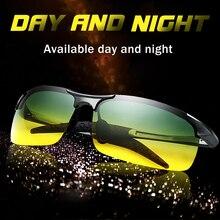 للجنسين الاستقطاب النظارات الشمسية الرجال القيادة يوم ليلة نظارات الذكور مكافحة وهج UV400 نظارات النساء السائق نظارات gafas oculos دي سول