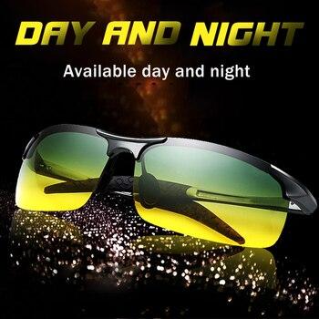 Unisex polarized sunglasses Men Driving Day Night Glasses Male Anti-glare UV400 Eyewear Women Driver gafas oculos de sol