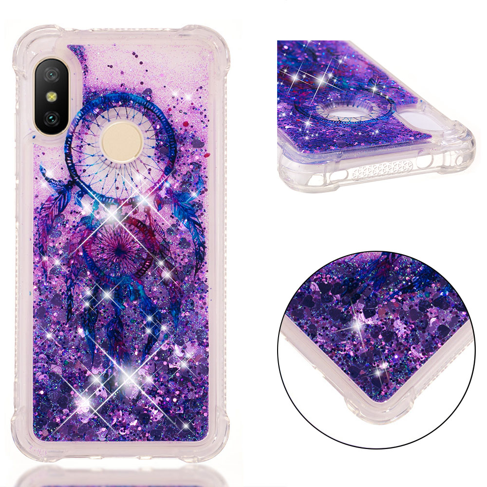 3D Liquid Silicone Case for Coque Xiaomi Mi A2 Lite Xiaomi Redmi Note 4X 5A Prime 5 Plus S2 Y2 4X 4A 5A Funda Etui in Rhinestone Cases from Cellphones Telecommunications