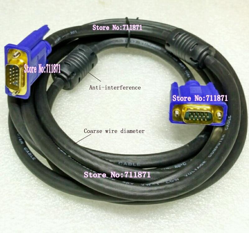 Кабель для защиты от помех 300 см/3,0 м 1920*1080 15P штекер-Штекер D-Sub VGA линейный кабель 15pin-15P штекер HDB15 VGA кабель D-Sub линейный шнур