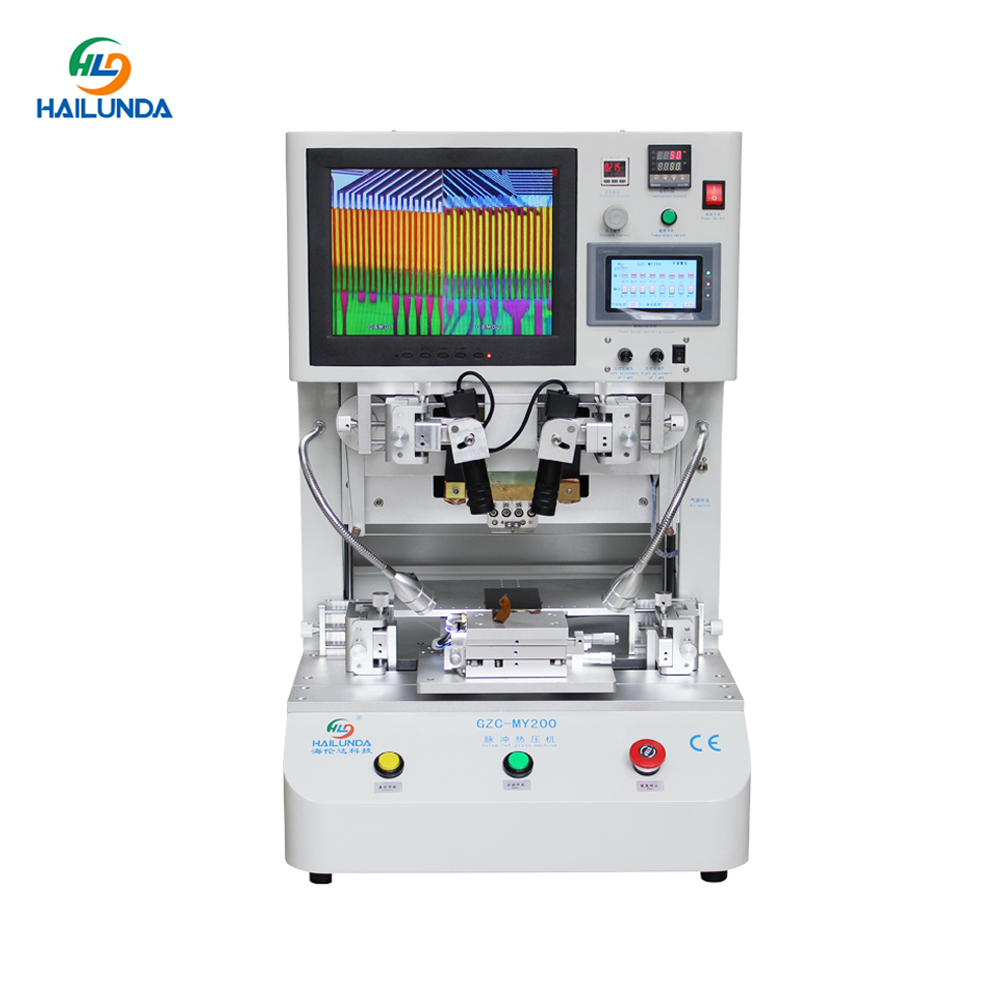 Flex Cable Repair Machine Pulse Hot Press LCD Flex Cables Ribbon FPC ACF Bonding Machine For IPhone For Samsung For IPad PCB FIx