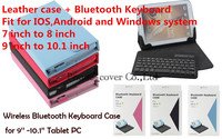 Luxury Universal Bluetooth Keyboard With Leather Case Cover For Acer Iconia Tab 10 A3 A30 A3