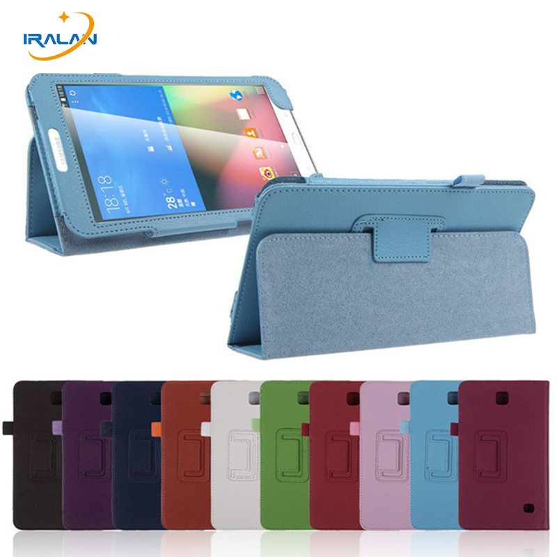2017 New Flip books stand Case For Samsung Galaxy Tab 4 8.0 T330 T331 T335 PU Leather Litchi luxury Cover +stylus + screen film cxd3846 4 new tab cof ic module
