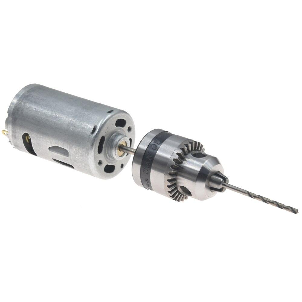 Small PCB Drill Press Drilling with 10pcs Drills 0.7//0.8//1.0//1.2//1.4 mm 12V Cut