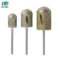 Large Head Diamond Bit Rotary Bur For Foot Callus Clean Accessory For Electric Manicure Pedicure Drill Machine Nail Art T36