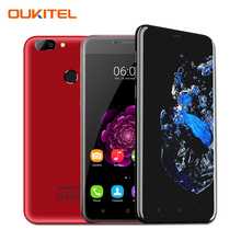 "Оригинал Oukitel U20 Плюс Двойная Камера Android 6.0 Moile Телефон 2 ГБ RAM 16 ГБ ROM 5.5 ""MTK6737T FHD Quad Core 4 Г LTE Отпечатков Пальцев ID"