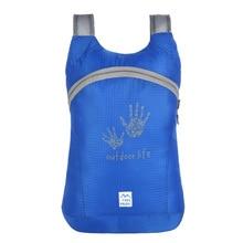 Ultralight Waterproof Nylon Outdoors Folding Backpacks Ventilated Storage Sports Package Travel Bags Schoolbags