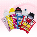 FASHION 1piece  Mickey Minnie Children Sleepwear, hood warm child bathrobe, Free size Baby Kids Robes+age 1-5 years old