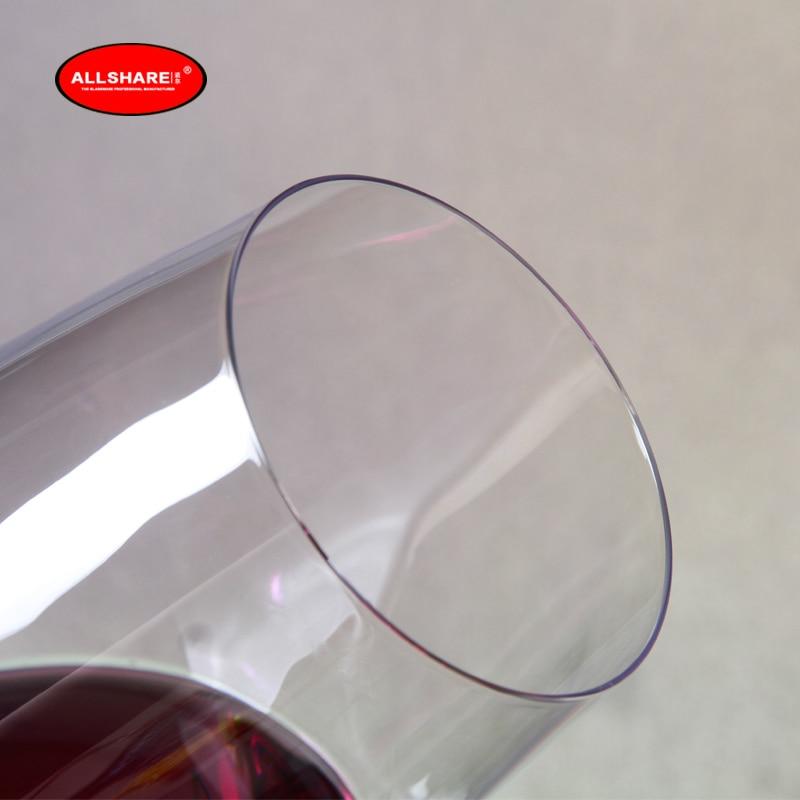 aniversario cristal transparente sin plomo para el hogar fiesta boda 1 unidad. Gelentea bar Copa de vino tinto con tibur/ón en el interior