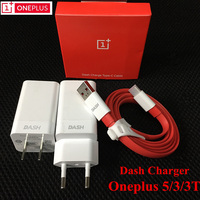 ONEPLUS 5T Charger ,100% Original One plus 3 3t 5 5V 4A EU usb wall dash charge adapter and 100CM/150CM Quick Fast Type-C cable