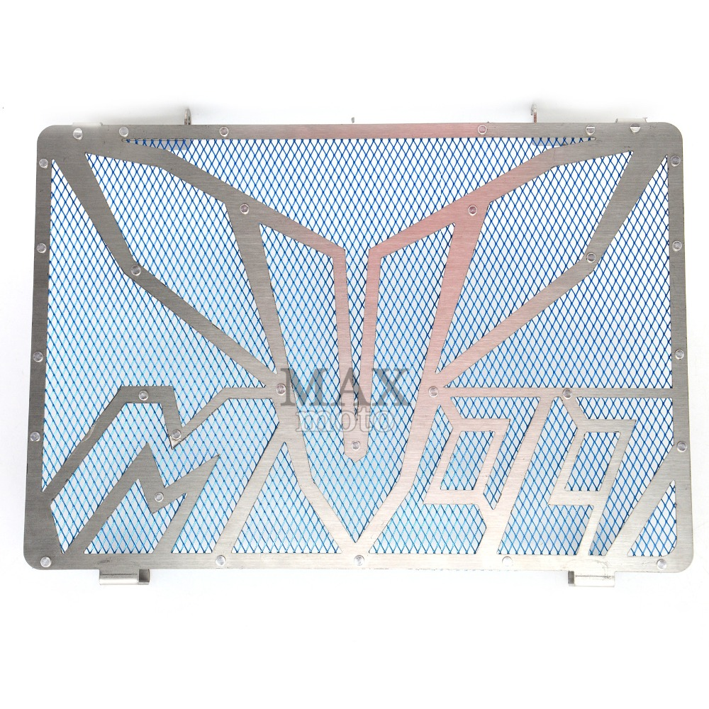 ФОТО  motorcycle stainless steel radiator guard protector grille grill cover For YAMAHA MT-09 MT09 2014 2015 2016