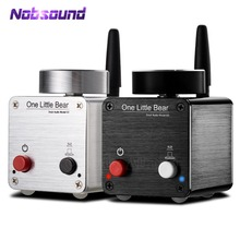 Nobsound أحدث الدب الصغير G5 مرحبا فاي بلوتوث صغير مضخم رقمي الصوت أمبير ستيريو 50W * 2 مع امدادات الطاقة