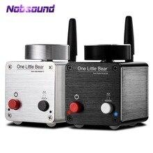 Nobsound Mới Nhất Gấu Nhỏ G5 Hi Fi Mini Bluetooth Bộ Khuếch Đại Kỹ Thuật Số Âm Thanh Amp Stereo 50W * 2 Cấp Cung Cấp Năng Lượng