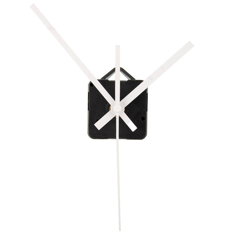 New Quartz Clock Movement Mechanism Repair Tool With Pointer Hands White DIY Wall Clock Hour/Minute Hand Clock Movement
