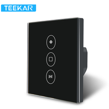 WiFi Smart Curtain Switch Smart Life for Electric Teepao Motorized Curtain Blind Roller Shutter Work With Alexa and Google Home