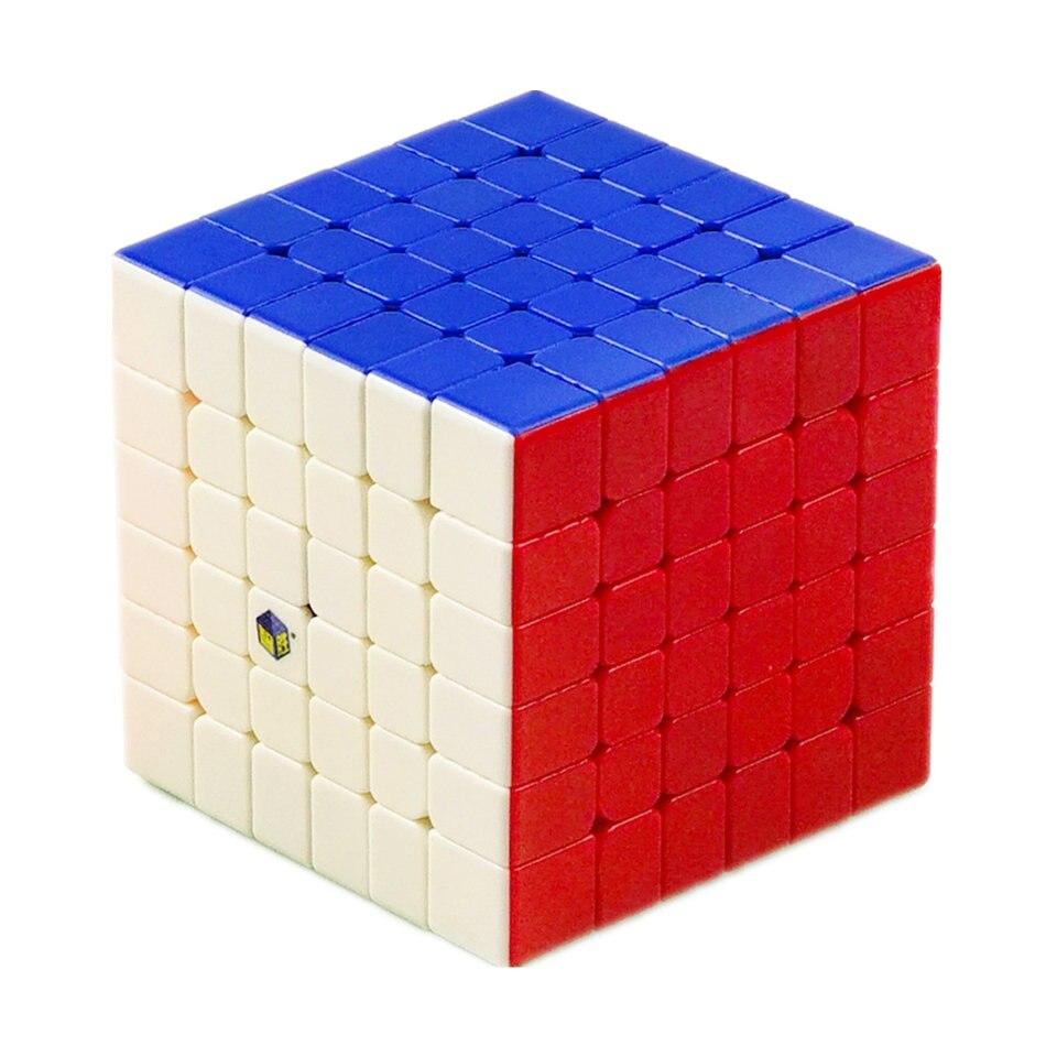 YuXin 6x6 Yuxin Cubo Pouco de Magia 6x6x6 6 Camadas Cubo de Velocidade Cubo Mágico Profissional puzzle Brinquedos Para Crianças Caçoa o Presente Toy