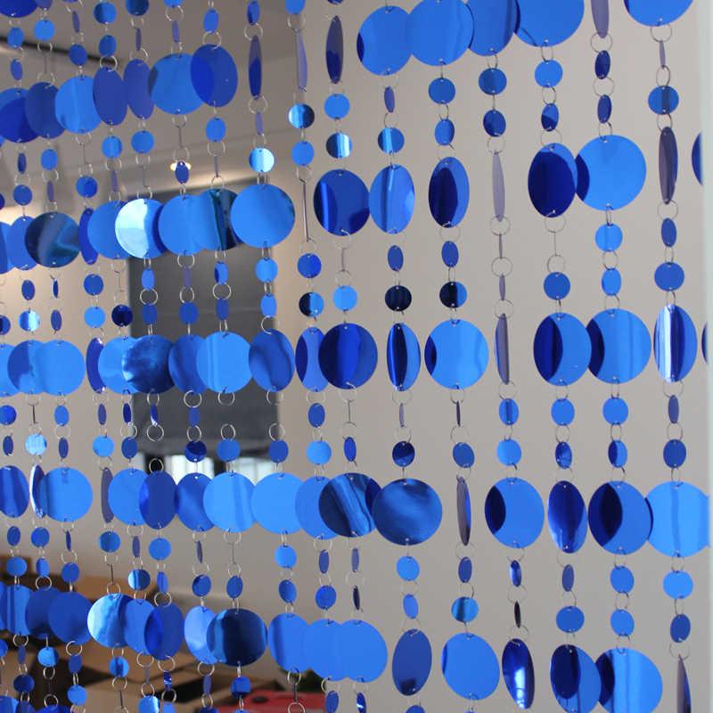 Paillettes PVC Rideaux articles Ménagers cloisons En Plastique rideaux Maison fournitures de Fête décoration de mariage