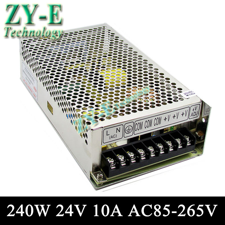 24V 10A 240w Switching led DC Power Supply non-waterproof led driver for LED display screen block power Free shipping free shipping universal power supply 24v 10a 240w switch power supply driver switching for led strip light display 110v 220v