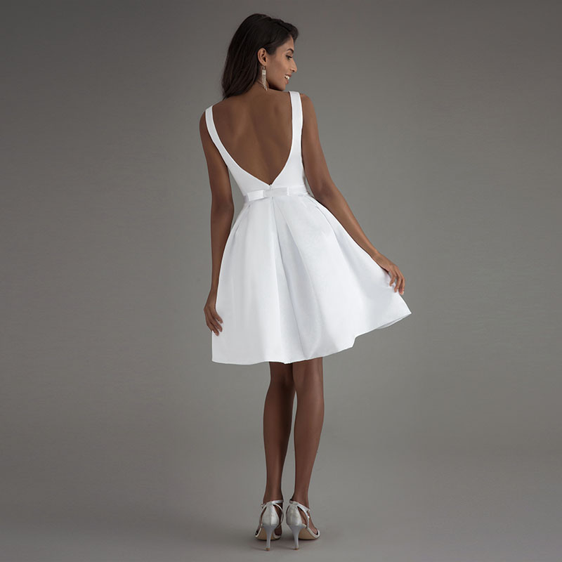 наперстянки, фасоны белого короткого платья фото так может