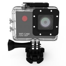 Wifi 1080P Waterproof 2.0″ LCD Screen Display 120 Degree a+ HD Wide-angle 5.0 MP CMOS Image Sensor Action Camera Sports Camera