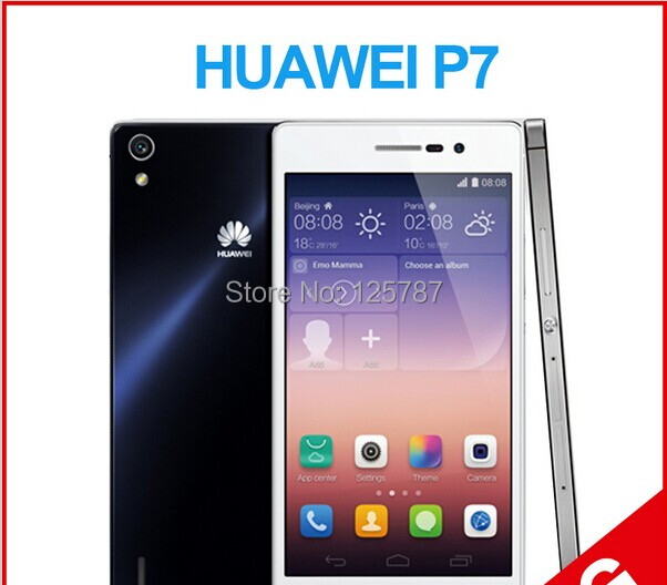 HuaWei Ascend P7 4G LTE 5 Inch Kirin 910 T Quad Core Android 4.4 IPS 1920X1080