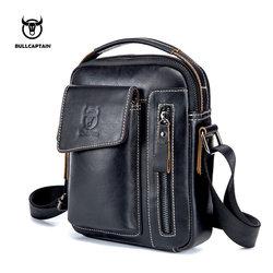 Bullcaptain из натуральной кожи Для мужчин сумка Повседневное сумка Бизнес Для мужчин женские сумки для подарка Brand сумка