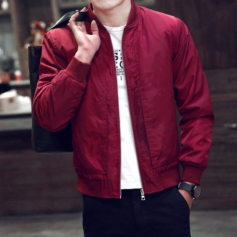 2018 Brand New Jacket Men Top Design Casual Outwear Spring Autumn