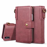 Business Leather Wallet Flip Card Stand Cover Retro Case For Iphone X 8 7 6S Plus 5S Samsung Galaxy S9 S8 Plus S7 S6 Edge NOTE 8