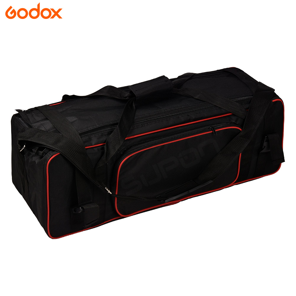 Godox Studio Lighting Kit Bag: Godox Pro Studio Flash Strobe Light Stand Carry Case Bag