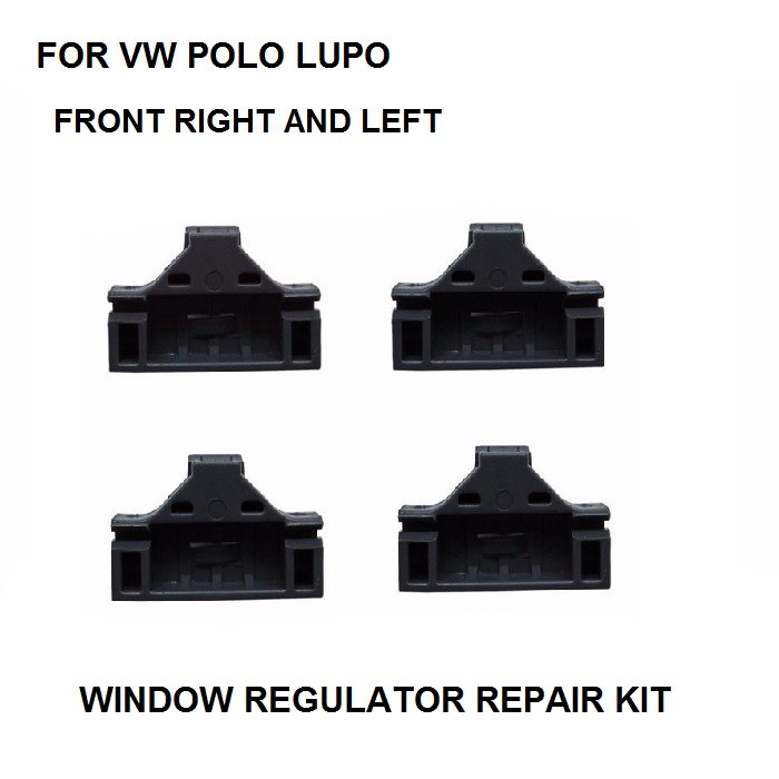 X4 PIECES FOR VW LUPO POLO ELECTRIC WINDOW REGULATOR CLIP FRONT RIGHT&LEFT SIDE NEW