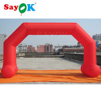 Hot sale inflatable start finish archway for race events inflatable arch finish line arch for event, advertisement
