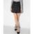 2017 suede mini patín marrón faldas un line falda de las mujeres ropa botón femme mujer vintage señoras de la falda de las mujeres más el tamaño fresco