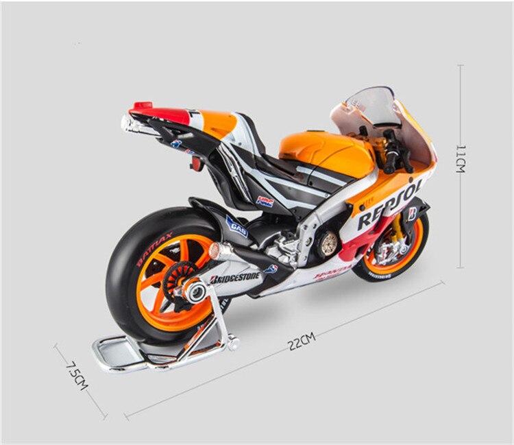1:10 Maisto Motorcycle Toy Alloy Yamaha Honda Motorbike Model Racing ...