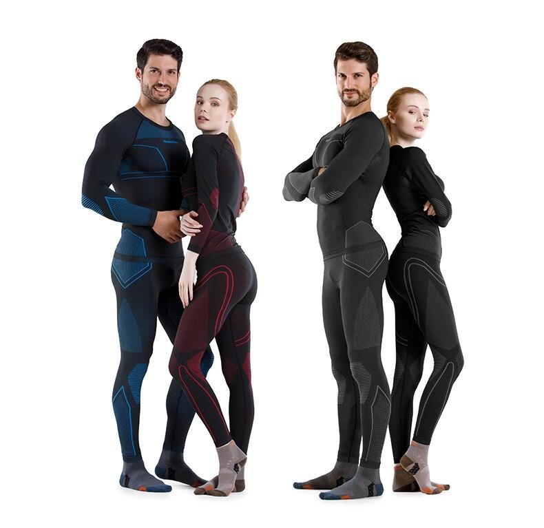 Naturehike Winter Women's Men's Snowboard Thermal Underwear Set Quick-drying Sports Hiking Pants Skiing Clothes Long Johns