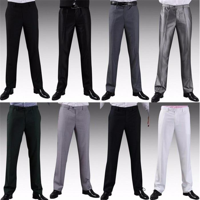 Мужские костюмные брюки модные свадебные формальные 12 цветов повседневные брюки известный бренд блейзер брюки Деловое платье брюки CBJ-H0284