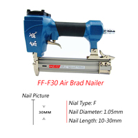 Air Brad Nailer Air Stapler For 10 30mm Length Nail Air Stapler 4 8 Bar Air Nailer 1.05mm Diameter Nail