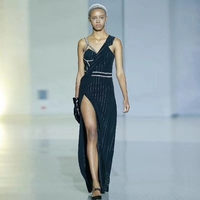 Модный халат femme сексуальные платья женские Вечерние черные темпераментные платья для женщин vadim Летние Элегантные erening vestido mujer
