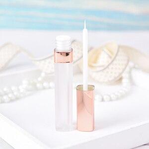 Rose gold empty eyelashes tube mascara tube eyeliner vials bottle Refillable Bottles 5.5ml