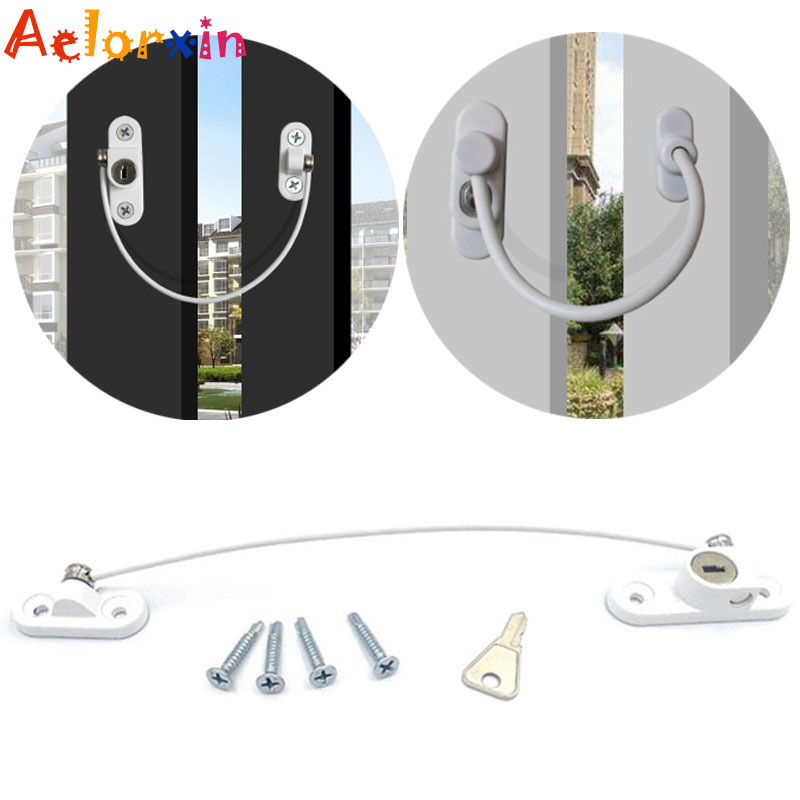 1Pcs- 6Pcs/Lot Child Protection Baby Safety Window Lock Window Limiter Locks On The Windows Child Safety Infant Security Child