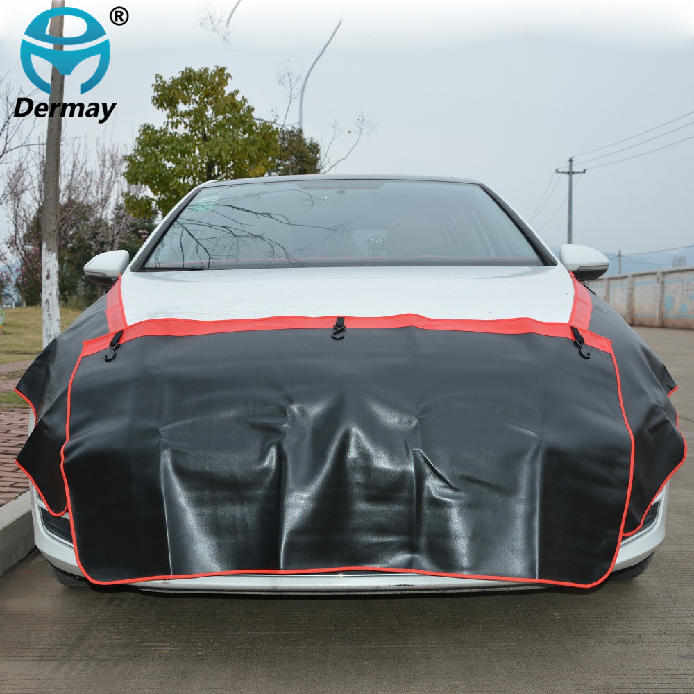 3PCS Car Fender Covers Protect Paintwork Magnetic Wing Cover Fender Bonnet Paint Auto Repair Tool Garage Car Covers